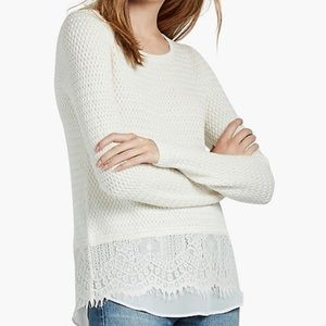 Lucky brand | ivory sweater